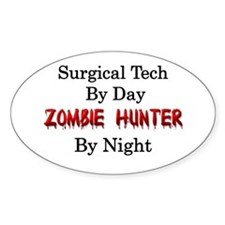 Surgical Tech/Zombie Hunter Decal