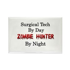 Surgical Tech/Zombie Hunter Rectangle Magnet