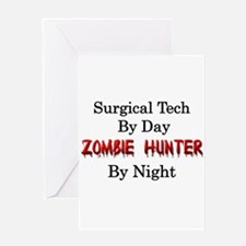 Surgical Tech/Zombie Hunter Greeting Card