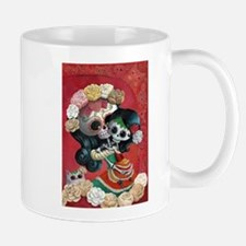 Mexican Skeletons - Mother with Daughter Mugs