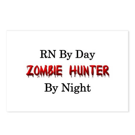 RN/Zombie Hunter Postcards (Package of 8)