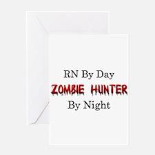 RN/Zombie Hunter Greeting Card