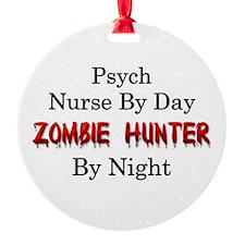 Psych Nurse/Zombie Hunter Ornament