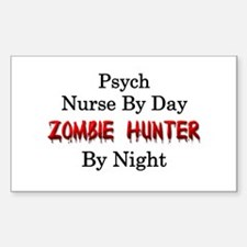 Psych Nurse/Zombie Hunter Decal