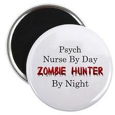 "Psych Nurse/Zombie Hunter 2.25"" Magnet (100 pack)"