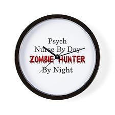 Psych Nurse/Zombie Hunter Wall Clock