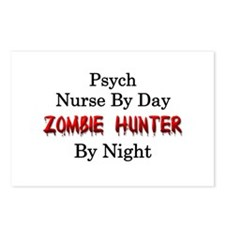 Psych Nurse/Zombie Hunter Postcards (Package of 8)