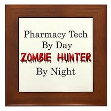 Pharmacy Tech/Zombie Hunter Framed Tile