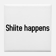 Cute Happens Tile Coaster