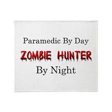 Paramedic/Zombie Hunter Throw Blanket