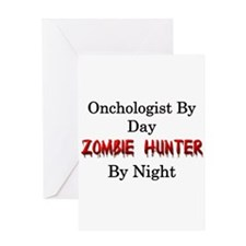 Oncologist/Zombie Hunter Greeting Card