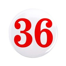 """RED #36 3.5"""" Button"""