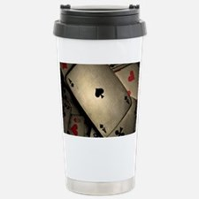 Playing Cards Stainless Steel Travel Mug