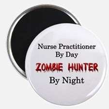 Nurse Practitioner/Zombie Hunter Magnet