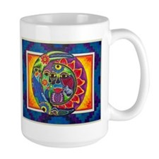 Aztec Sun and Moon Mugs