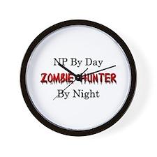 NP/Zombie Hunter Wall Clock