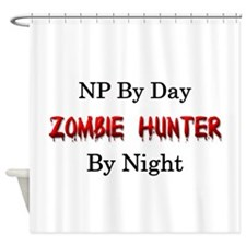 NP/Zombie Hunter Shower Curtain