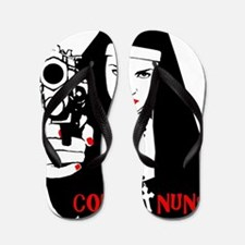 Combat Nuns Flip Flops