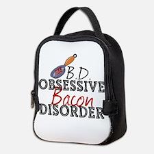 Funny Bacon Neoprene Lunch Bag