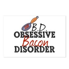 Funny Bacon Postcards (Package of 8)