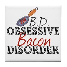 Funny Bacon Tile Coaster
