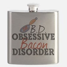 Funny Bacon Flask