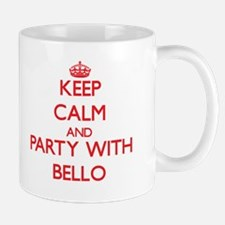 Keep calm and Party with Bello Mugs