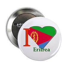 """I love Eritrea 2.25"""" Button (10 pack)"""