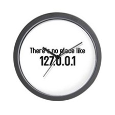 there's no place like 127.0.0.1 Wall Clock