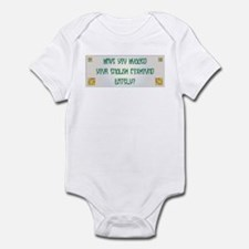 Hugged Foxhound Infant Bodysuit