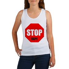Stop Rape Women'Stank Top Women'S Women'S Tank Top