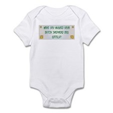 Hugged Shepherd Infant Bodysuit
