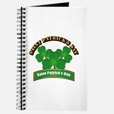 Saint Patrick's Day with text Journal