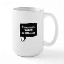 Voice Bubble Mugs