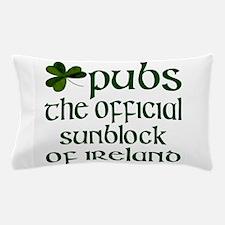Irish Sunblock Pillow Case