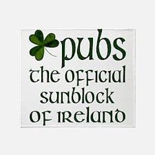 Irish Sunblock Throw Blanket