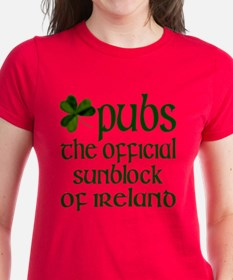 Irish Sunblock Tee
