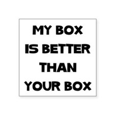 My Box Sticker