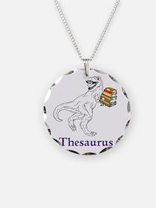 Thesaurus Necklace
