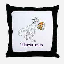 Thesaurus Throw Pillow