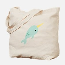 Narwhal Sea Whale Animal Tote Bag