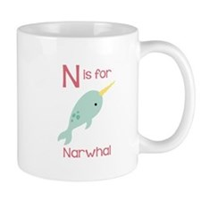 N Is For Narwhal Mugs