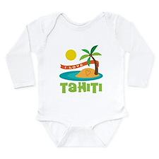 I Love Tahiti Long Sleeve Infant Bodysuit