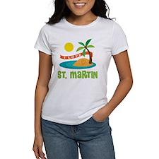 I Love St. Martin Tee