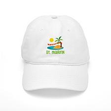 I Love St. Martin Baseball Cap