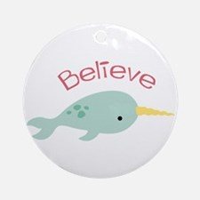 Believe Ornament (Round)
