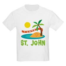 I Love St. John T-Shirt