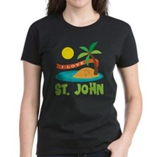 I Love St. John Tee