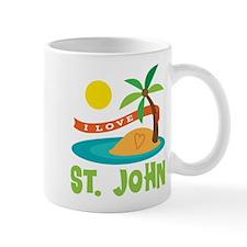 I Love St. John Mug