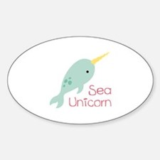 Sea Unicorn Decal